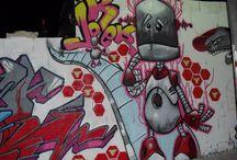 Graffitis JOKER / Mis graffitis