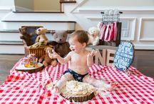 picnic cake smash