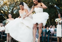 Lesbian Wedding Ideas / Lesbian wedding rings, dresses, cakes, flowers, invitations, and other ideas.