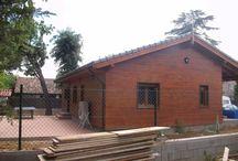 trabajos, casa de madera, reformas