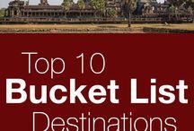 Bucket Lists - Top 10 Travel Lists