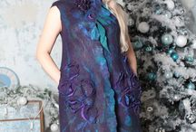 Войлочные платья