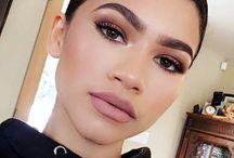 Zendaya makeup