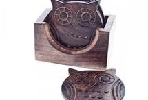 sova keramický výtvory