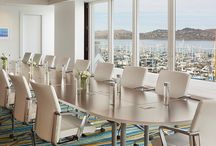 Refreshed Meeting & Event Space / In early January 2016, Casa Madrona Hotel & Spa will re-open the 1,678 sq-ft of function space on the second floor of the Contemporary Building above Bridgeway after a complete refresh. The upgrades include major technology enhancements and a new design which will complement the panoramic bay views featured in the space.