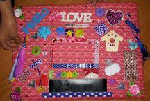 kinderfeestje moodboards maken / Door diverse kinderen gemaakt