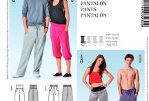 My Sewing patterns