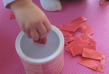 Ways to keep a toddler busy / by Debbie Fehr