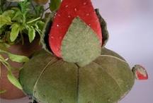 Strawberry Make-Do's & Pin Cushions