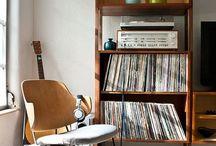 Meuble platine disque