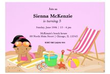 Party Time: Invitation inspiration for kids / This board has Invitation inspiration for children's birthdays parties.  #invitations #invites