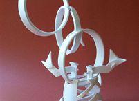 Sculpture: Styrofoam cup