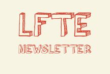 LFTE Newsletter / Love for the Elderly's seasonal, digital newsletter.