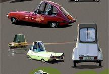 Concept design - Vehicles