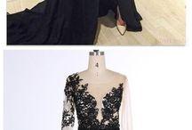 Evening dresses chiffon