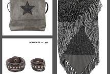 Sjaals, ponchos en scarvelets / Trends m.b.t. sjaals, poncho's en scarvalets