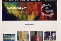 Easton art gallery tutorials / Website description uses