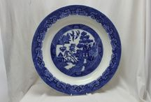 Blue and white china / A selection of beautiful blue and white china-a perennial favourite.