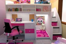 cuchetas con escritorios