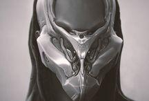 Sci-Fi / CyberPank Mask