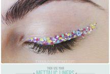 Nice make-up and nails :)