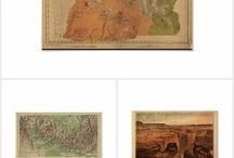Favorite Antique National Park Maps