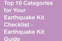 Earthquake Preparedness / An earthquake can strike at anytime. Being prepared and knowing what  to do can save your life. Learn what you can do now to protect you and your family.
