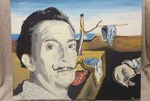 Art Icon Portraits by Jamie Roxx