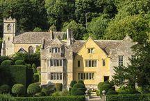 Owlpen manor estate