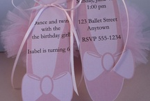 Party ideas for my little ballerina