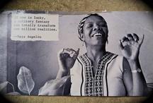 {creatives} Maya Angelou / Maya Angelou | Dr. Angelou is a celebrated poet, memoirist, novelist, educator, dramatist, producer, actress, historian, filmmaker, and civil rights activist. {via http://mayaangelou.com/ }