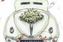 tło ślubne