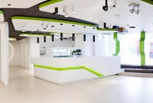 Inspirational Office Spaces / Just some of our amazing commercial projects and their very stylish offices...