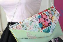 Pochette / I prodotti Vale.Ri sono realizzati esclusivamente a mano e in Italia. Il mix perfetto di moda, originalità e versatilità!