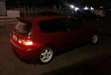 civic eg4 hatch red