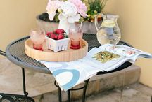 Home | Outdoor Spaces / patio decor, patio furniture, outdoor furniture ideas, how to decorate my patio, outdoor patio ideas, pretty patios, boho patio decor, boho patio furniture
