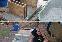 Making cement blocks