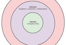 el internet extranet y intranet / Voy a colocar los conocimientos buscados sobre el tema