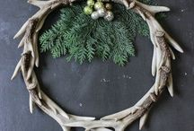 Inspiration: antlers / Deer antlers use in home décor