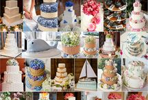 Wedding cake, cupcake