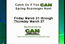 The 2014 CAN TREASURE HUNT! / On a one week mission to guide readers through 29 stops so they can win all sorts of cool stuff!