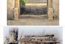 Aquarelle Portes