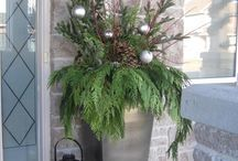 front door Christmas ideas