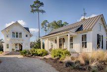 duck crossing - palmetto bluff / modern lakeside farmhouse