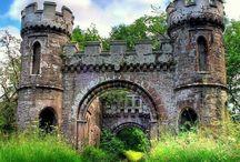 Forlatte slott