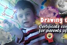 Teaching children with autism through Visual Art / A unique course for parents of Autistic Children