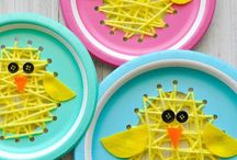 Easter craft activities and colourful ideas