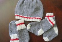 Chapeau mitaine foulard
