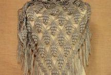 Echarpes, scarves, châles, shawls / Crocheter ou tricoter, des écharpes et des châles