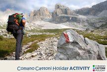 Comano Cattoni Holiday_ACTIVITY / Le più belle emozioni ed esperienza da vivere e sperimentare sul territorio di Comano Terme - Trentino
